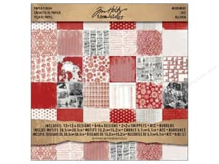 Tim Holtz Idea-ology Paper Stash 12x12 Merriment