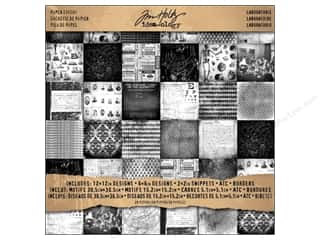 Tim Holtz Idea-ology Paper Stash 12x12 Laboratorie