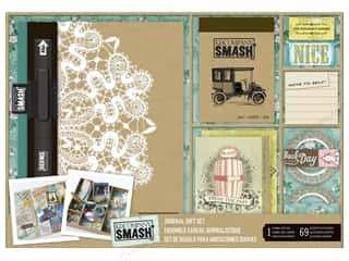 K & Company Scrapbook / Photo Albums: K&Company Smash Journal Gift Set Nostalgia