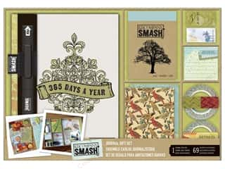 K & Company Scrapbook / Photo Albums: K&Company Smash Journal Gift Set 365