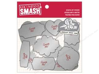K&Co Smash Sticker Holiday Scratch Off