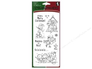 Inkadinkado InkadinkaClings Clear Stamp Holiday Birds