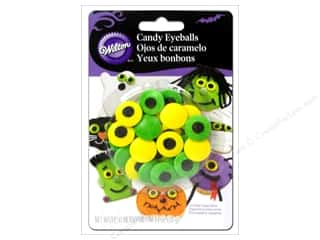 Cooking/Kitchen Black: Wilton Edible Decorations Icing Candy Eyeballs Spooky