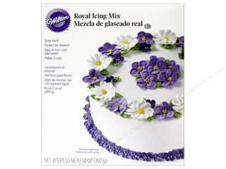 Wilton Blue: Wilton Edible Decorations Royal Icing Mix 14oz