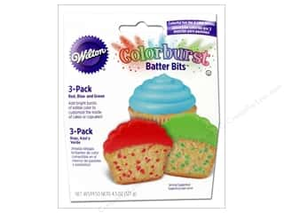 Wilton Edible Batter Bits Colorburst Primary 4.5oz