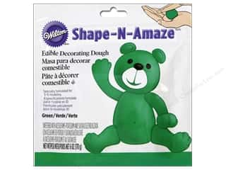 Cooking/Kitchen Edibles / Foods: Wilton Edible Decorations Shape N Amaze Decorating Dough 6oz Green