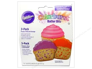 Edibles / Foods: Wilton Edible Decorations Batter Bits Colorburst 4.5oz Multi Bright