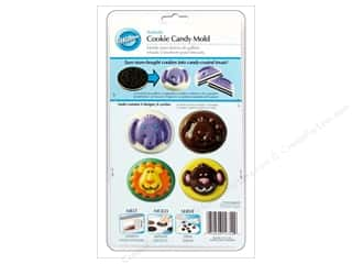 Wilton Molds Cookie Candy Animals Astd 8 Cavity