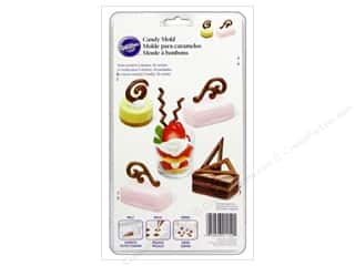 Cooking/Kitchen Craft & Hobbies: Wilton Molds Candy Dessert Accents 10 Cavity