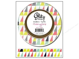 Weekly Specials Pellon Easy-Knit Batting & Seam Tape: Glitz Design Washi Tape Finnley Triangles