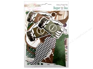 Father's Day Authentique Die Cuts: Glitz Design Whatnots Dapper Dan