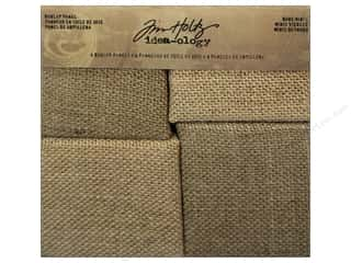 Tim Holtz Idea-ology Burlap Panels Bare Minis