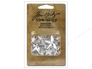 Tim Holtz Idea-ology Mirrored Stars Assorted 24pc