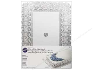 "Baking Supplies 14"": Wilton Decorations Cake Board Show N Serve 14""x 20"" Rectangle 6pc"