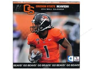 "Licensed Products Gifts: Turner Calendar Wall 2014 12""x 12"" Oregon State"