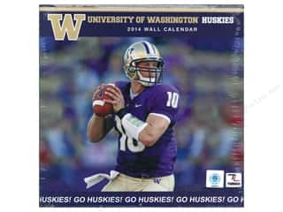 "License To Quilt: Turner Calendar Wall 2014 12""x 12"" Washington Huskies"