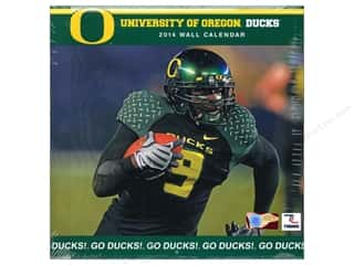 "License To Quilt: Turner Calendar Wall 2014 12""x 12"" Oregon Ducks"