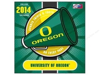 Gifts & Giftwrap Sports: Turner Calendar Box 2014 Oregon Ducks