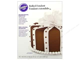 Wilton Edible Decorations Fondant Rolled 24oz Choc