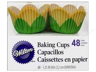Wilton Baking Cup Mini Petal Yellow 48pc
