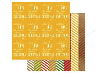 Glitz Design Paper 12x12 Hello December Love (25 piece)
