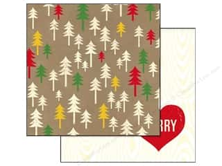 Glitz Design 12 x 12 in. Paper Hello December Trees (25 piece)