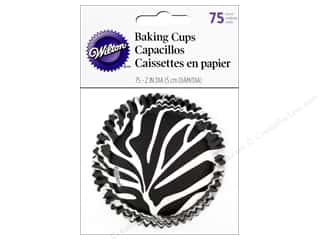 Wilton Animals: Wilton Baking Cup Standard Zebra 75pc