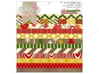 Glitz Design Paper Pad Hello December 6x6