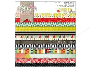 "Coredinations Designer Papers & Cardstock: Glitz Design Paper Pad Finnley 6""x 6"""