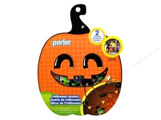 Halloween Kids Crafts: Perler Activity Kit Halloween Jewelry