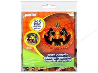 Kid Crafts Perler Fused Bead: Perler Fused Bead Kit Pumpkin Sampler