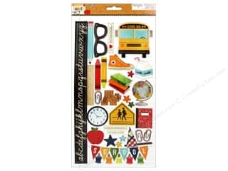 Simple Stories Sticker Smarty Pants Chipboard
