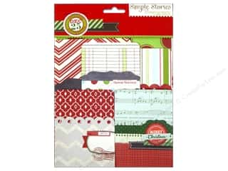 Pattern $2-$4 Clearance : Simple Stories SN@P! Pockets December Documented