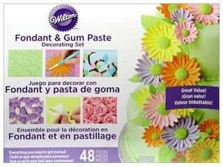 form $6 - $9: Wilton Tools Fondant/Gum Paste Decorating Set