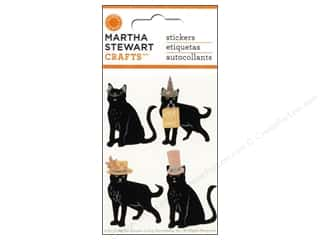 Martha Stewart Sticker Animal Masquerade Cat