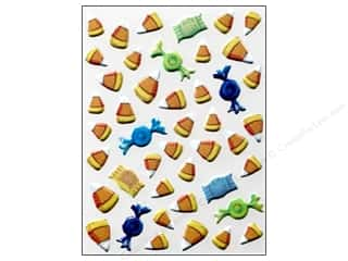 K&Co Sticker TC Halloween Pillow Candy Corn