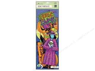 Halloween Clearance: K&Company Die Cut Tim Coffey Halloween Cardstock Large