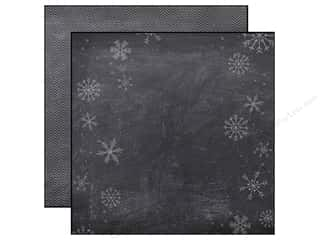 Simple Stories Paper 12x12 December Doc Chalkboard (25 piece)
