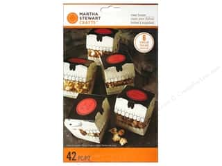 Baking Wraps / Cupcake Wrappers: Martha Stewart Food Packaging Treat Boxes Gothic Manor Skull