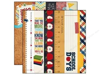 Simple Stories Paper 12 x 12 in. Smarty Pants Border & Title (25 piece)