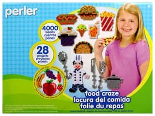 Perler Fused Bead Kit Food Craze