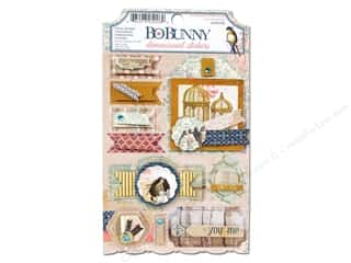 Bo Bunny Dimensional Stickers: Bo Bunny Cardstock Stickers Layered The Avenues