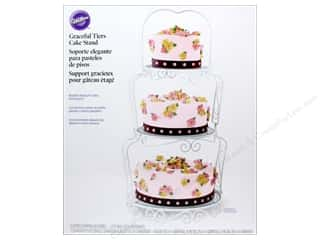 Cooking/Kitchen Clear: Wilton Containers Cake Stand Graceful Tiers 11pc