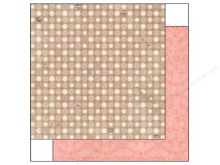Clearance Bo Bunny Paper Collection Packs: Bo Bunny 12 x 12 in. Paper The Avenues Collection Dot (25 sheets)