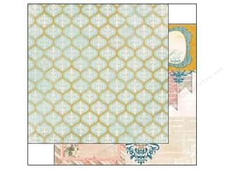 Grout: Bo Bunny 12 x 12 in. Paper The Avenues Collection Trellis (25 pieces)