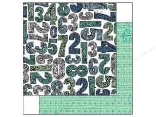 Bo Bunny ABC & 123: Bo Bunny 12 x 12 in. Paper Zip A Dee Doodle Collection Creative (25 pieces)