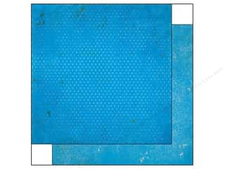 Bo Bunny 12 x 12 in. Paper Vintage Dot Brilliant Blue (25 piece)