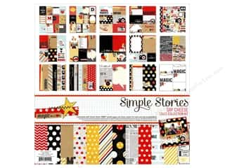 "Borders Sale: Simple Stories Kit Say Cheese Collection 12""x 12"""