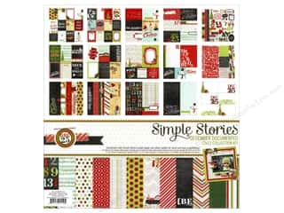 Weekly Specials Collection Kit: Simple Stories Kit December Doc Collection 12x12
