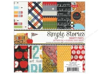 Scrapbooking: Simple Stories Paper Pad Smarty Pants 6x6